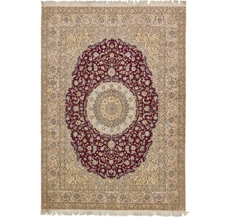 290cm x 410cm Nain Persian Rug
