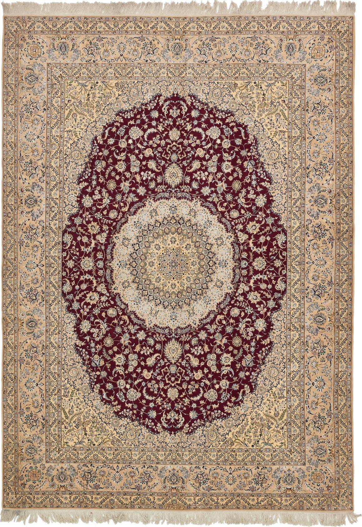 9' 6 x 13' 5 Nain Persian Rug main image