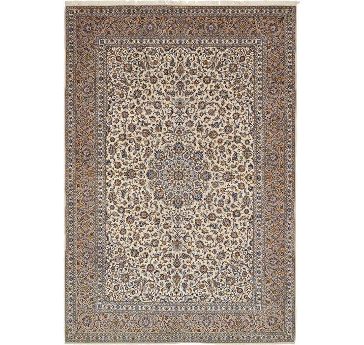 11' 3 x 16' 4 Kashan Persian Rug