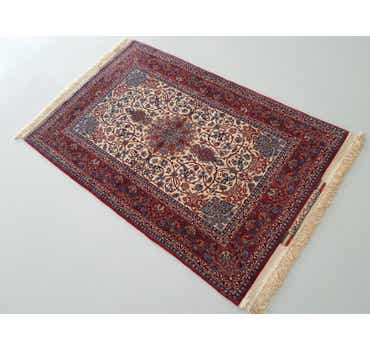 Image of 100cm x 150cm Isfahan Persian Rug