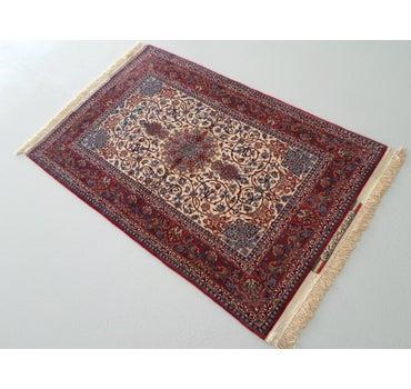 3' 3 x 4' 11 Isfahan Persian Rug