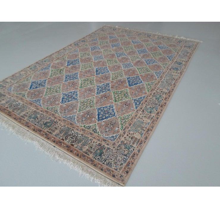 235cm x 348cm Isfahan Persian Rug