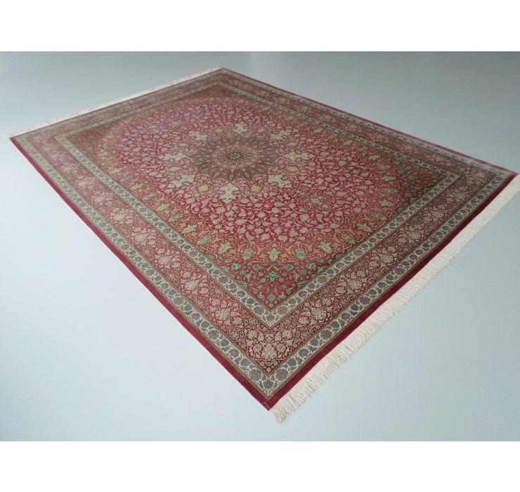 Image of 8' 2 x 11' 3 Qom Persian Rug