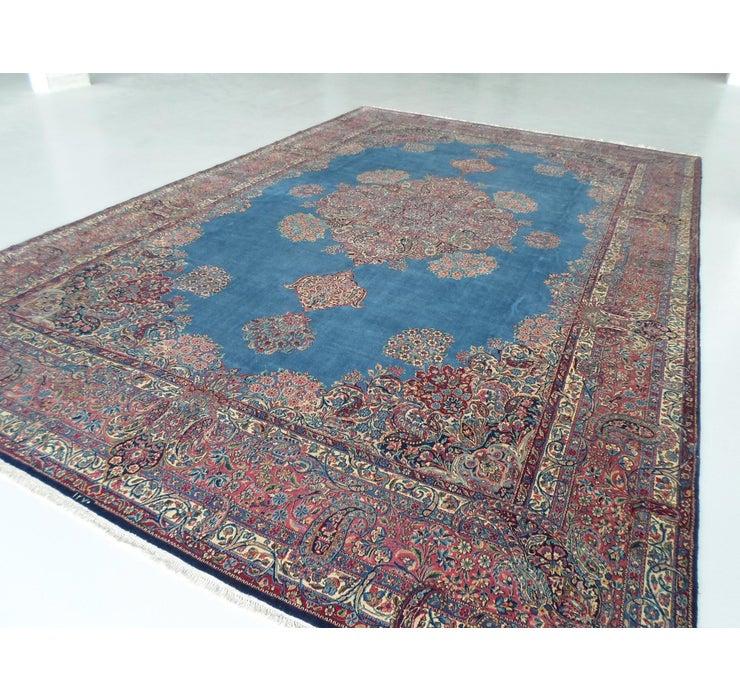 345cm x 540cm Kerman Persian Rug