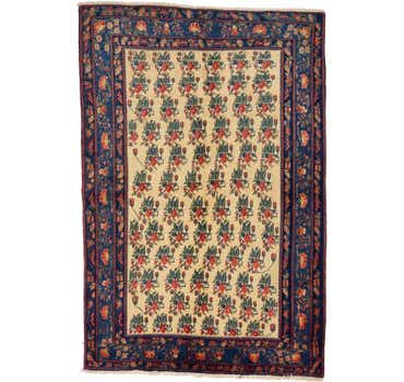 Image of 4' 10 x 7' 4 Bakhtiar Persian Rug
