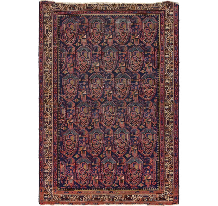 135cm x 195cm Malayer Persian Rug