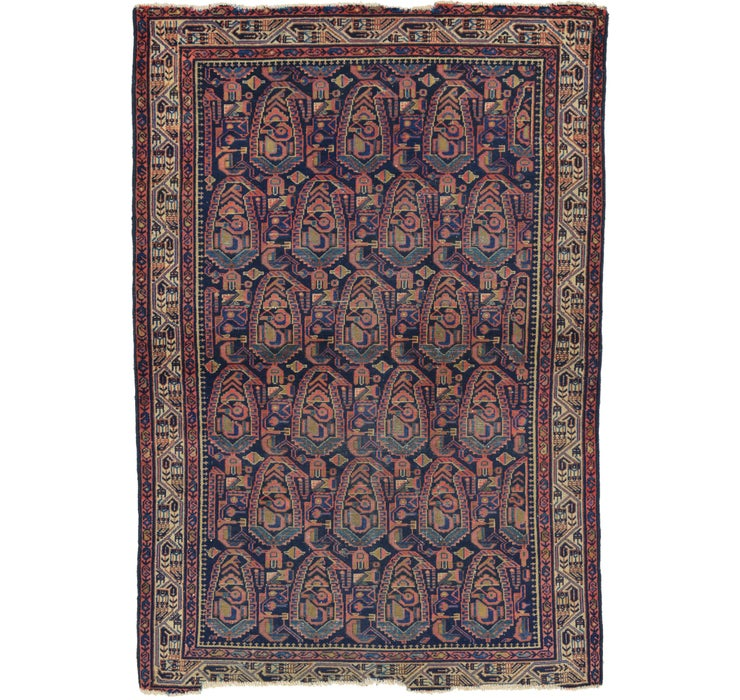 132cm x 193cm Malayer Persian Rug