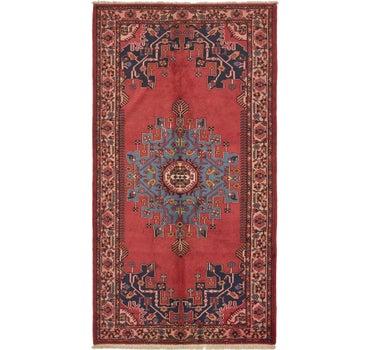 5' 5 x 10' 2 Tafresh Persian Runner Rug main image