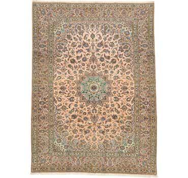 Image of 8' 4 x 11' 6 Kashan Persian Rug