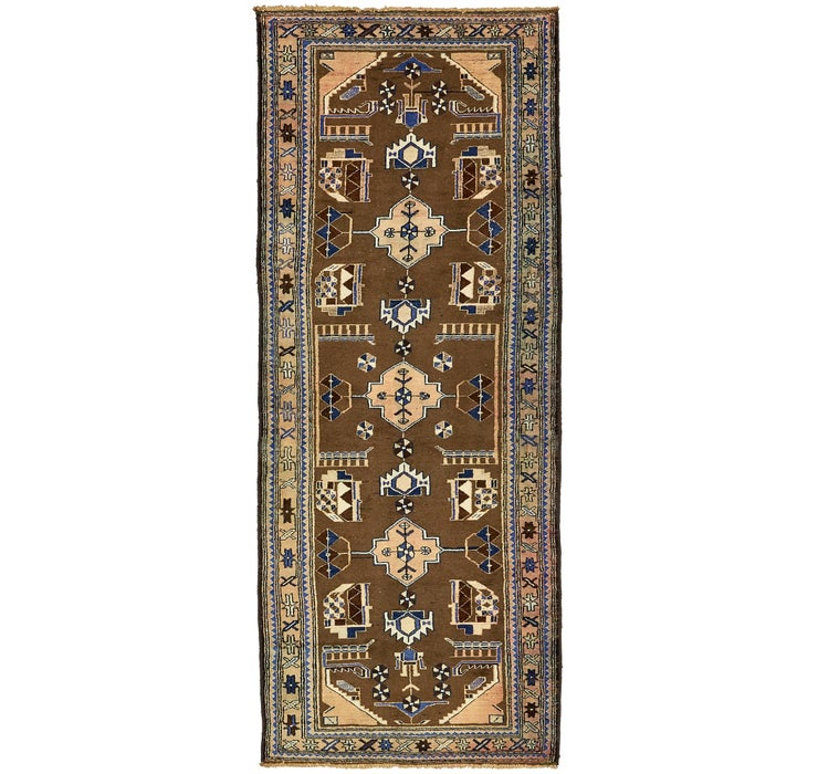 Image of 110cm x 295cm Tafresh Persian Runner ...