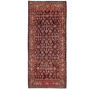 3' 7 x 8' 9 Hossainabad Persian Runner Rug main image