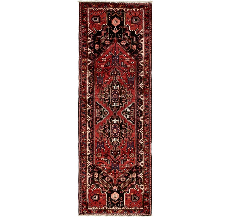 105cm x 302cm Zanjan Persian Runner Rug