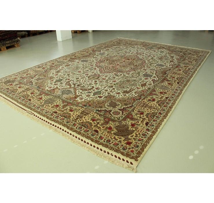 345cm x 508cm Tabriz Persian Rug