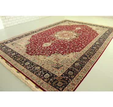 Image of 11' 2 x 16' 2 Tabriz Persian Rug