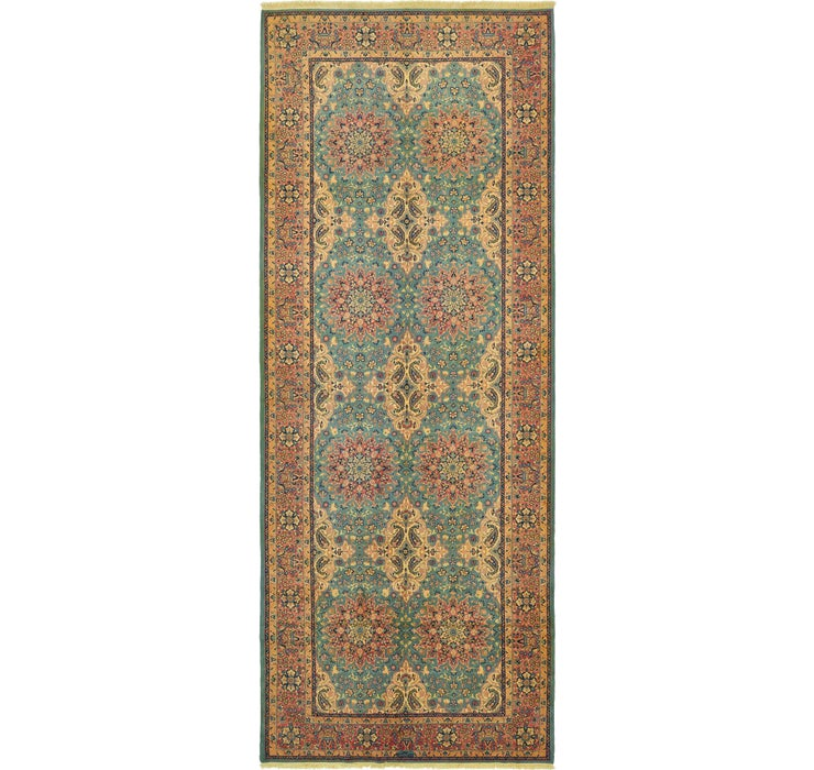 6' 5 x 16' 8 Yazd Persian Runner Rug