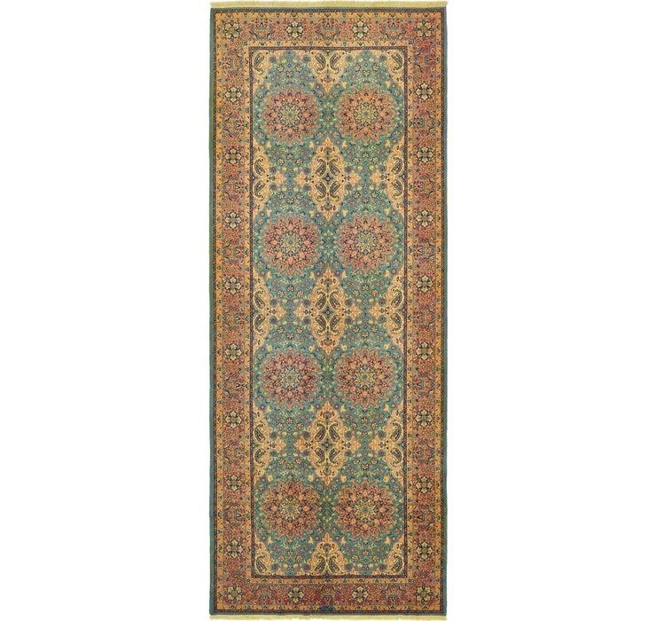 195cm x 508cm Yazd Persian Runner Rug