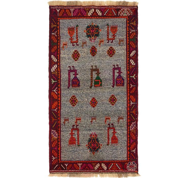 3' 3 x 6' Ghashghaei Persian Rug