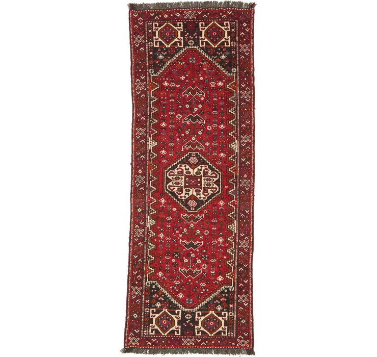 110cm x 300cm Shiraz Persian Runner Rug