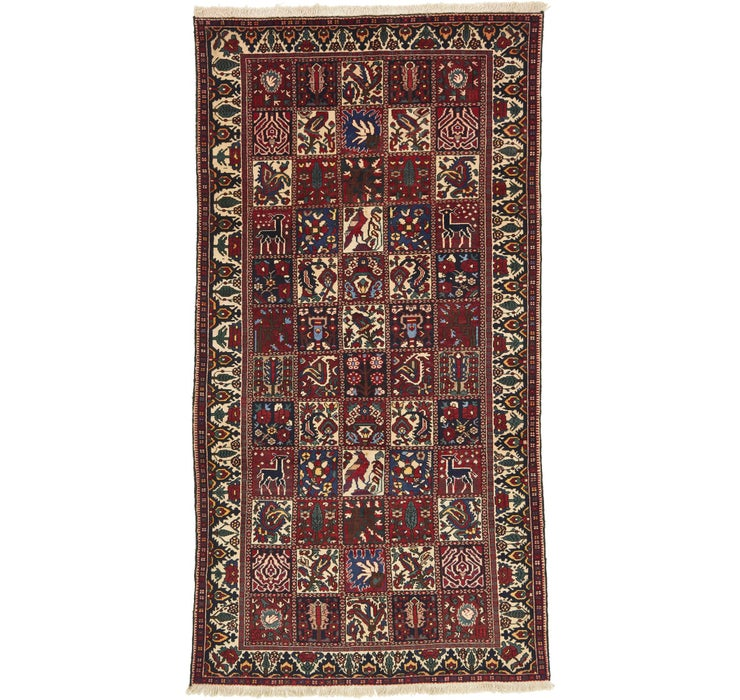 Image of 5' 3 x 10' Bakhtiar Persian Runner...