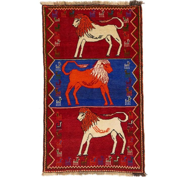 90cm x 152cm Shiraz Persian Rug