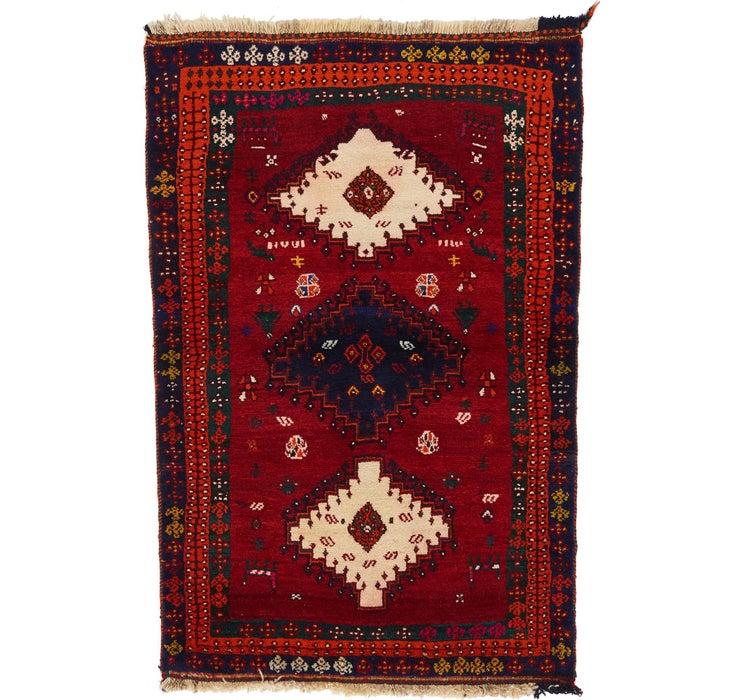 3' 7 x 5' Ghashghaei Persian Rug