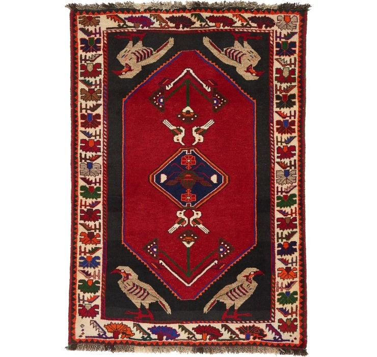 3' 5 x 5' 1 Ghashghaei Persian Rug