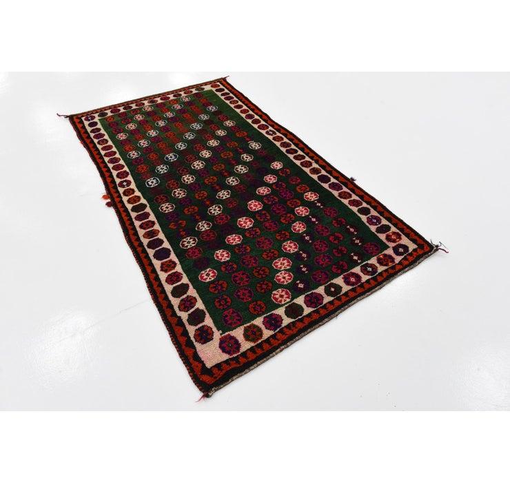 3' 4 x 5' 9 Ghashghaei Persian Rug