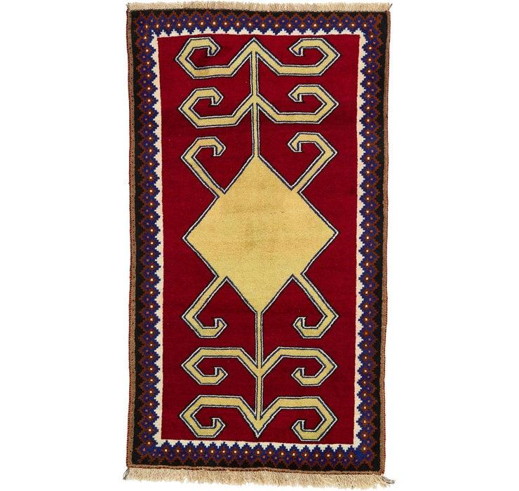 112cm x 198cm Ghashghaei Persian Rug