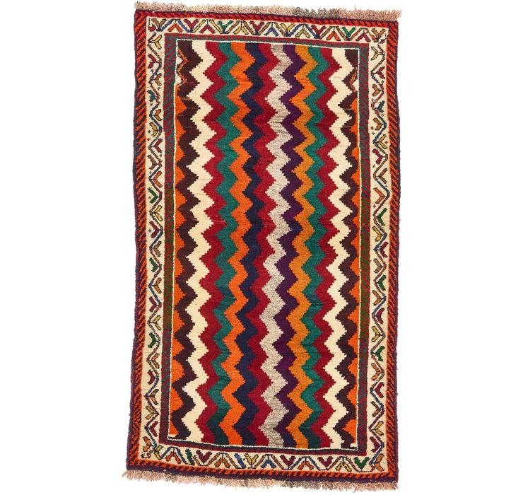 97cm x 170cm Ghashghaei Persian Rug