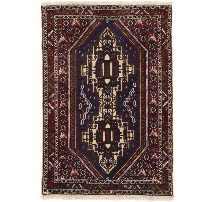 127cm x 185cm Bakhtiar Persian Rug