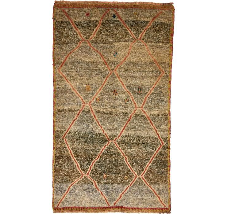 135cm x 235cm Shiraz-Gabbeh Persian Rug