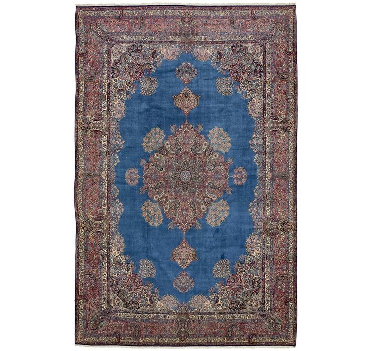 11' 3 x 17' 9 Kerman Persian Rug