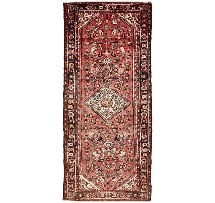 132cm x 312cm Hossainabad Persian Run...