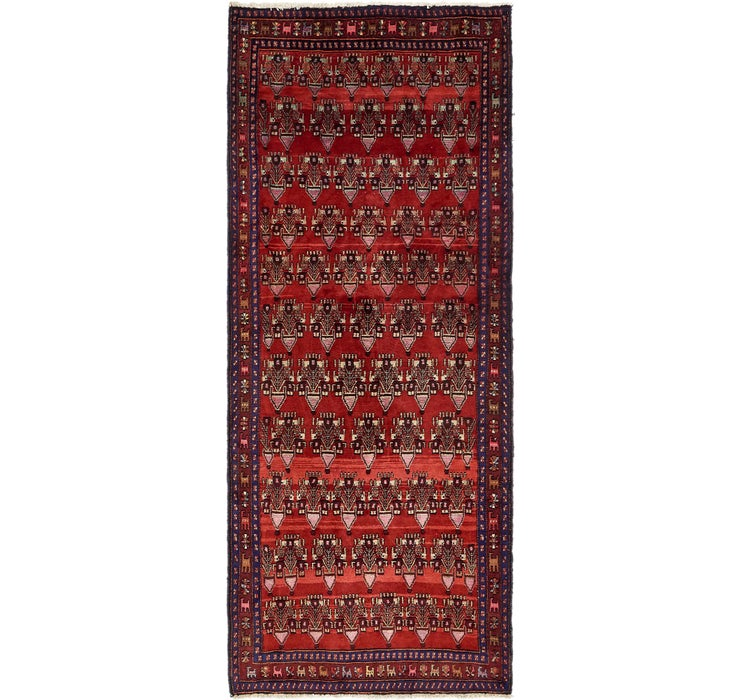 4' 2 x 10' 7 Sanandaj Persian Runner...