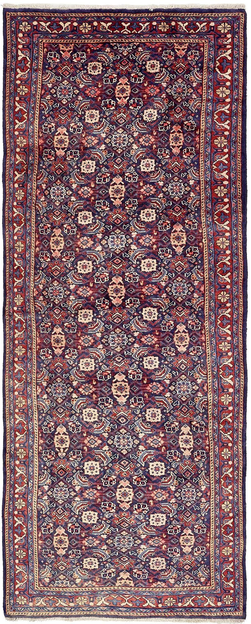 3' 7 x 10' 1 Farahan Persian Runner Rug main image