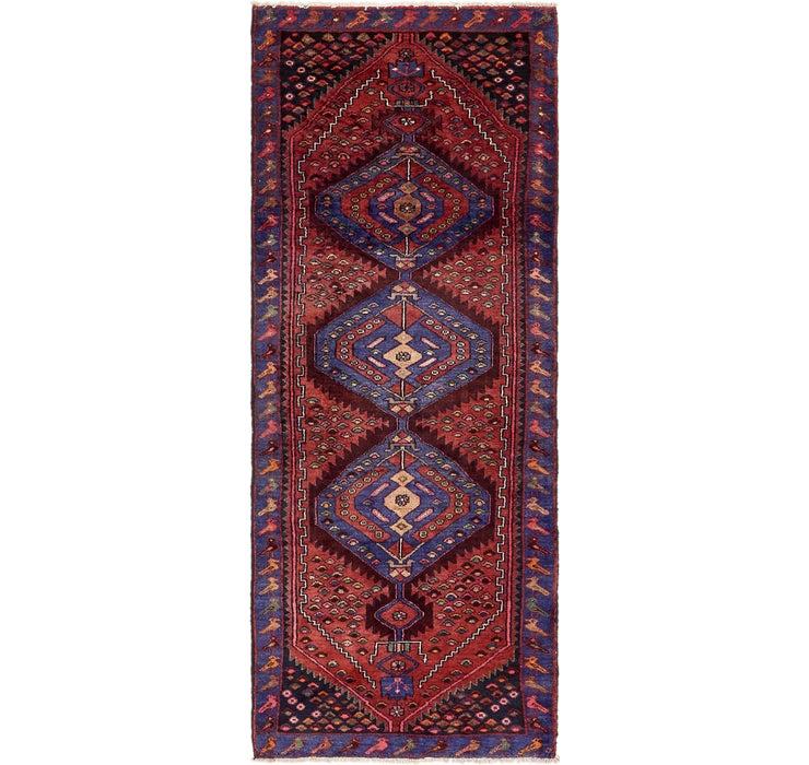 100cm x 292cm Zanjan Persian Runner Rug