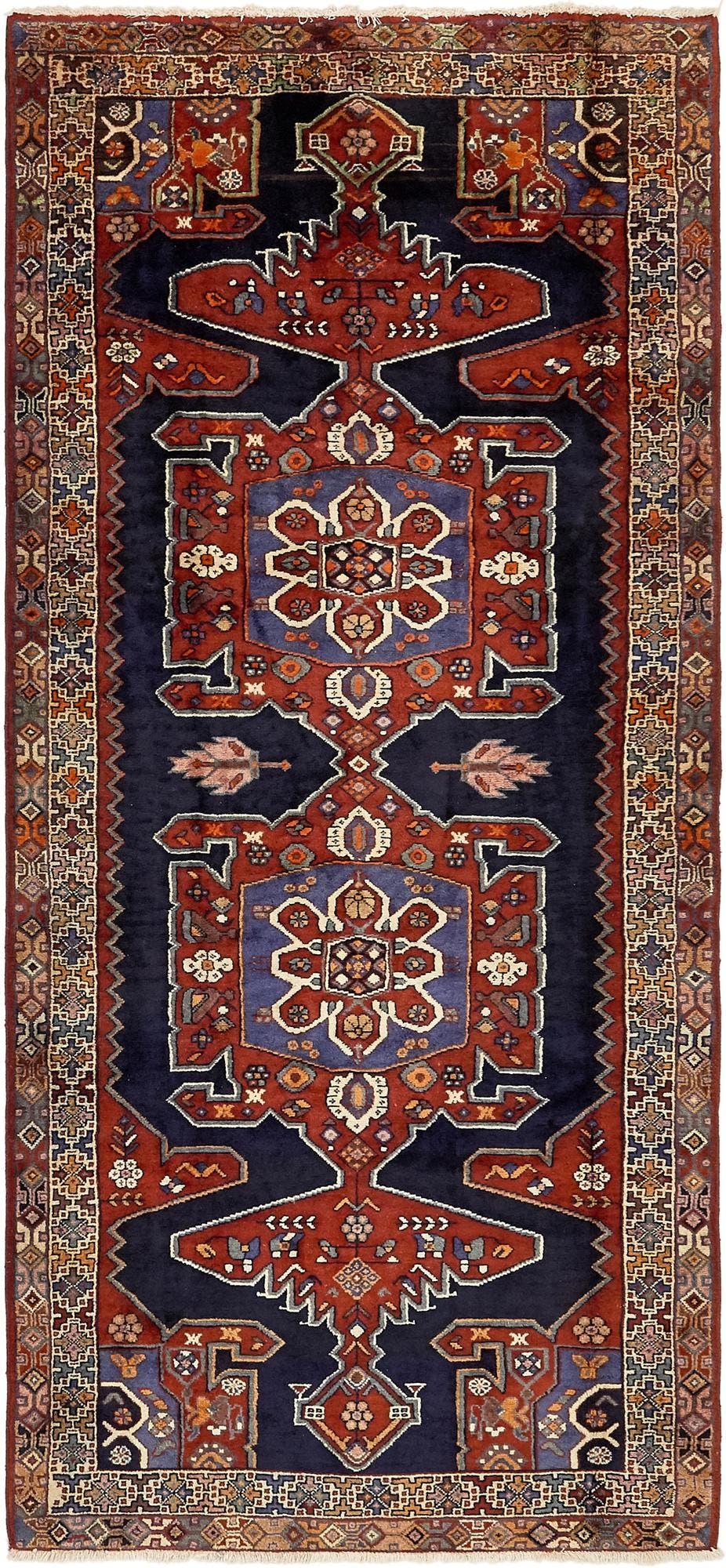 4' 3 x 9' 3 Tafresh Persian Runner Rug main image