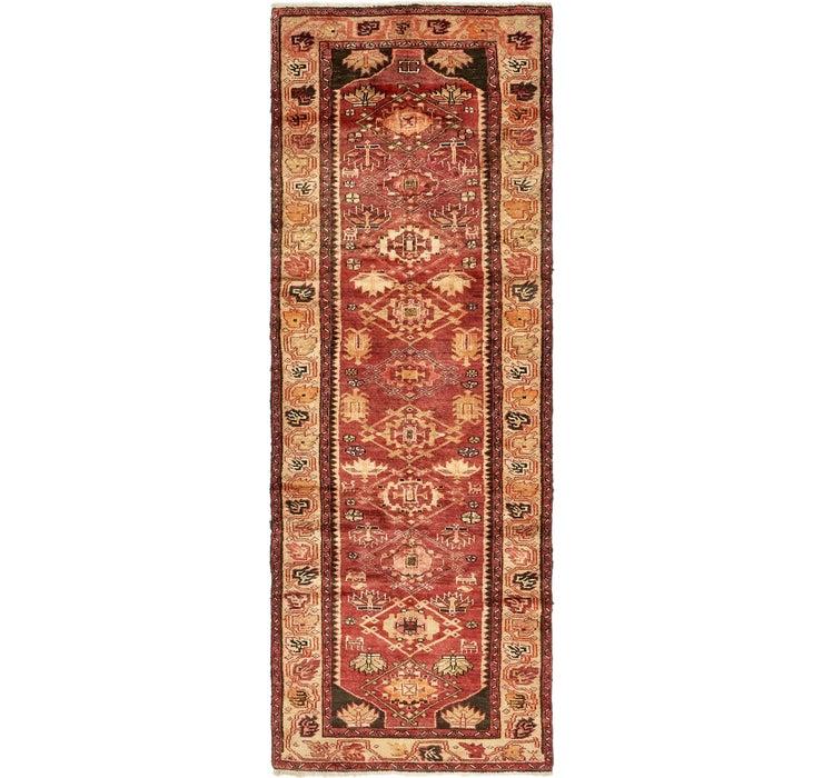102cm x 292cm Zanjan Persian Runner Rug
