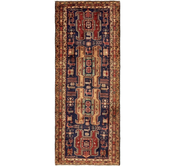 4' x 10' 4 Ardabil Persian Runner ...