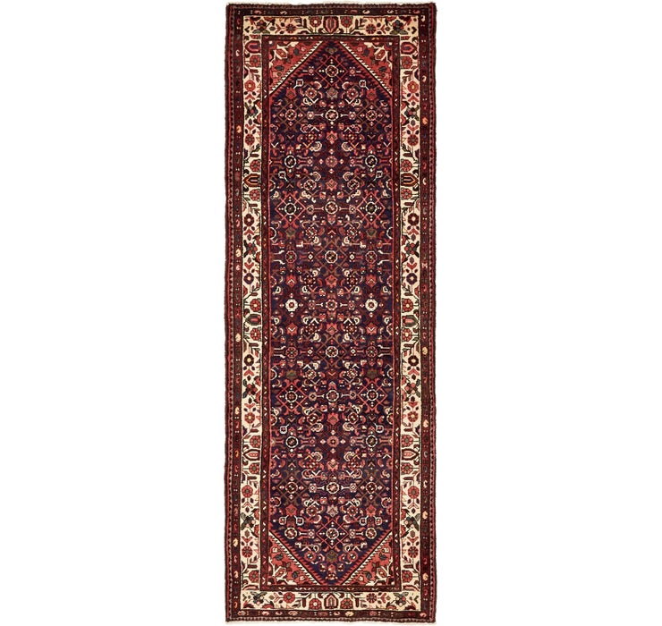 107cm x 320cm Hossainabad Persian Run...