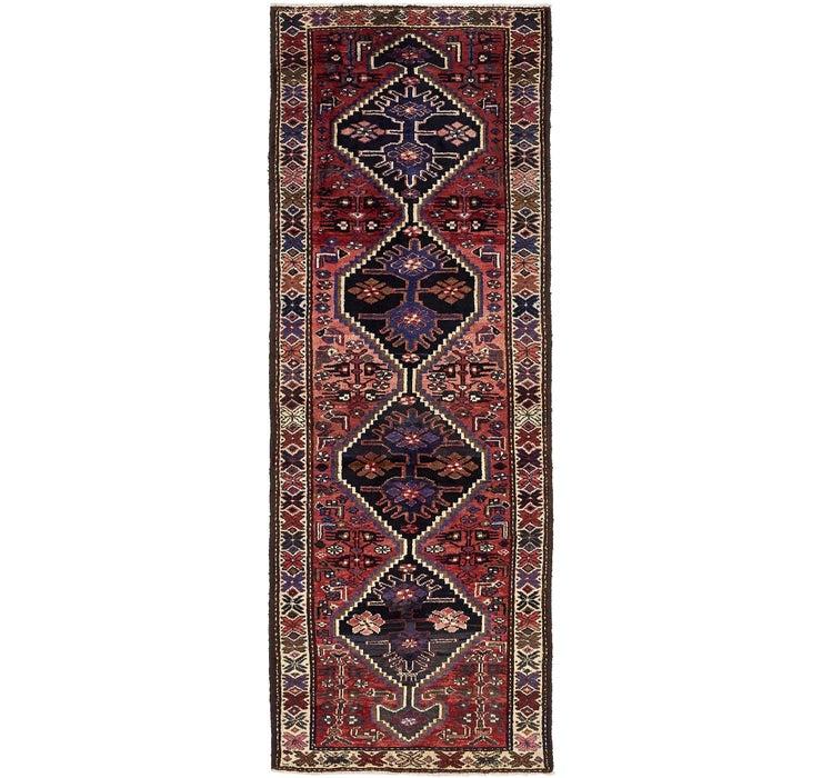 102cm x 295cm Zanjan Persian Runner Rug