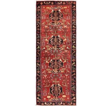 3' 8 x 10' Zanjan Persian Runner Rug main image