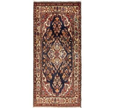 3' 9 x 8' 5 Borchelu Persian Runner Rug main image