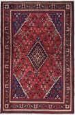 4' 4 x 7' Joshaghan Persian Rug thumbnail