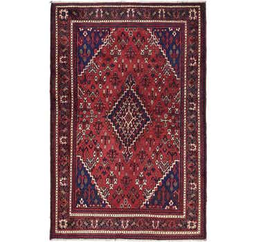 Image of 4' 4 x 7' Joshaghan Persian Rug