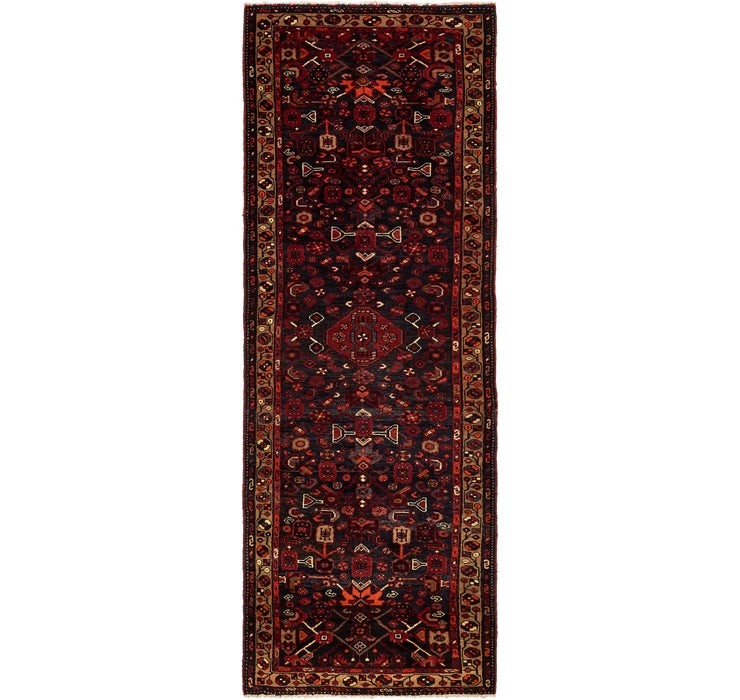 110cm x 318cm Hamedan Persian Runner ...