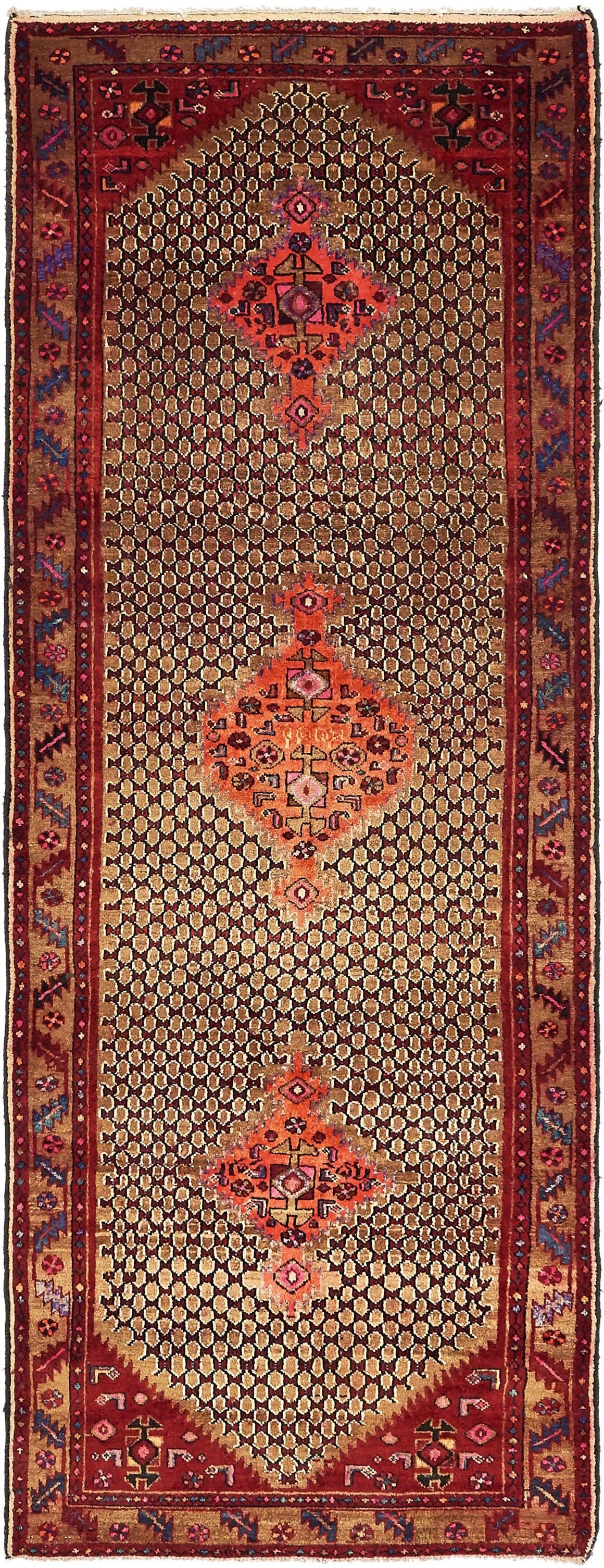 3' 8 x 9' 10 Koliaei Persian Runner Rug main image