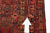 4' x 16' 10 Hossainabad Persian Runner Rug thumbnail
