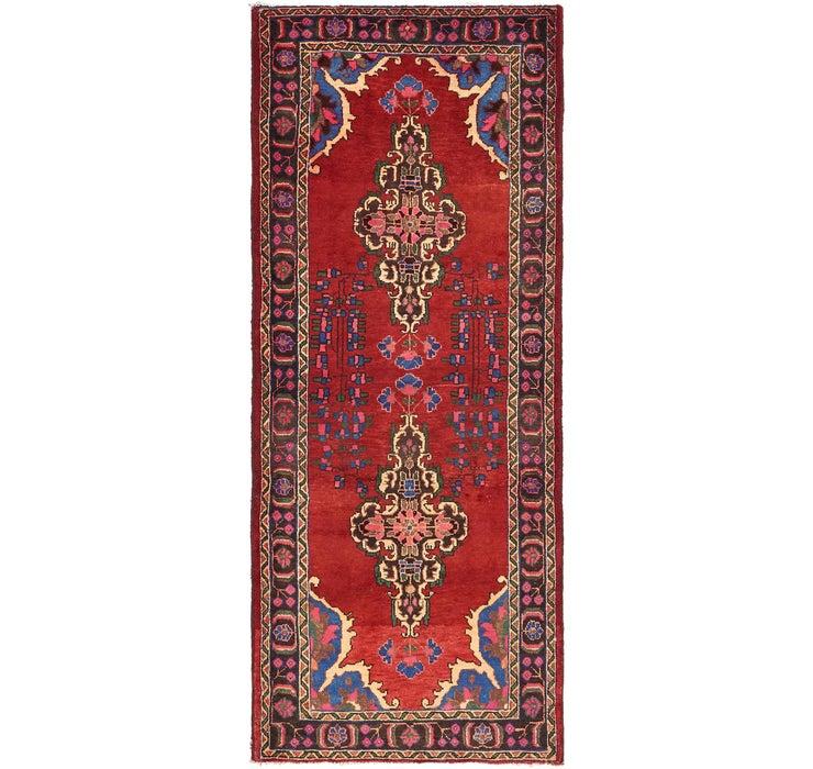 3' 10 x 9' 8 Ferdos Persian Runner Rug