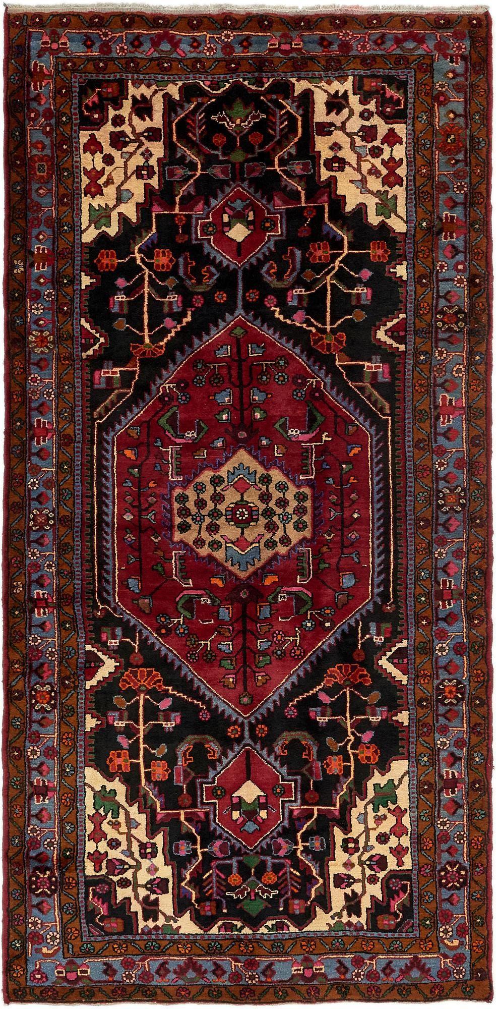 5' 2 x 10' 9 Nahavand Persian Runner Rug main image